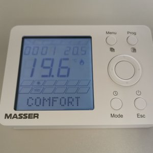 THMAS-WE MASSER thermostaat met weekprogramma